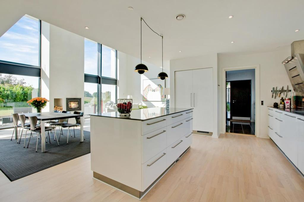 Arkitekttegnet hus af Arkinaut Arkitekter ApS Villa Max I Køkken