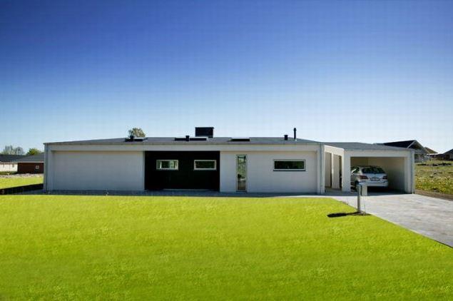 Arkitekt ny villa Glumsø exteriør3 Arkinaut.dk