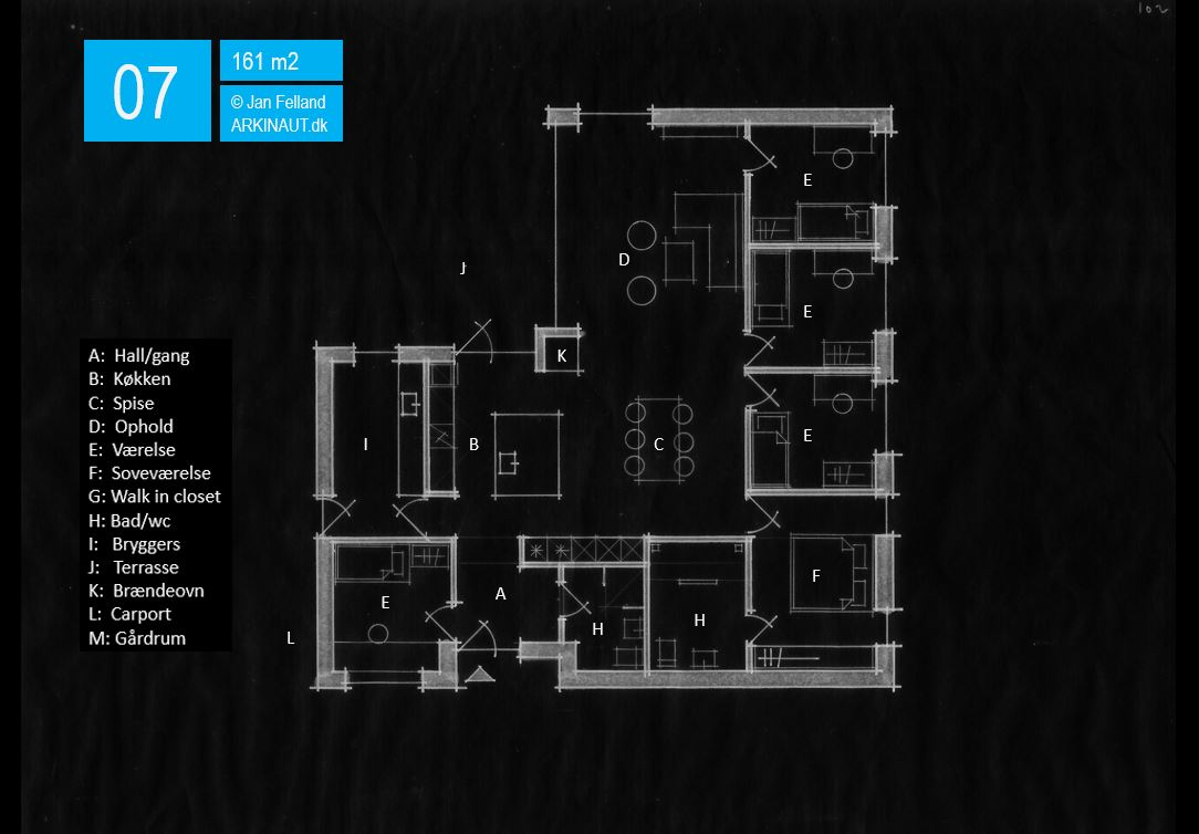 Arkitekttegnet hus plantegning 07 Arkinaut Arkitekter ApS
