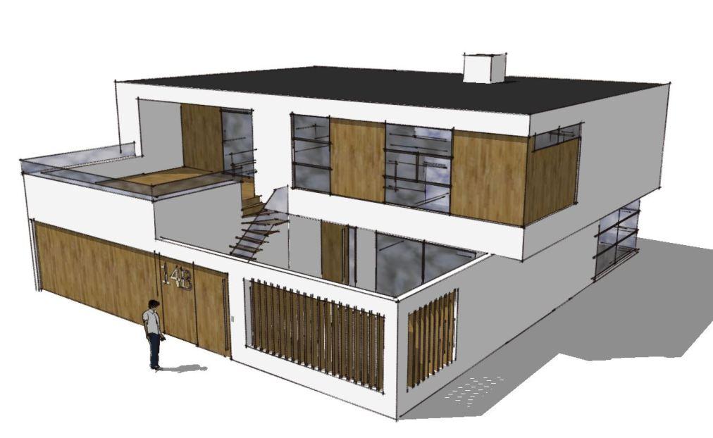 Arkitekttegnet hus - Forslag fra Arkinaut Arkitekt- og byggerådgivning Aps - Nybyggeri er reguleret af mange byggeregler