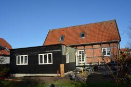 Tilbygning til villa - Foto fra byggeplads - Arkinaut Arkitekt- og Byggerådgivning Aps