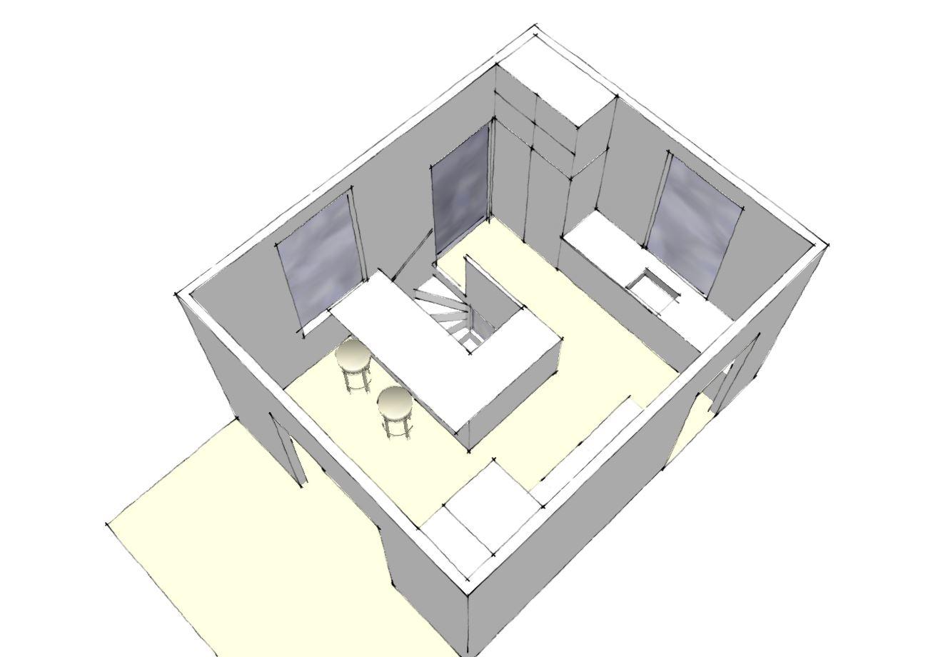Modernisering af kælder, nyt badeværelse m.v. - ARKINAUT
