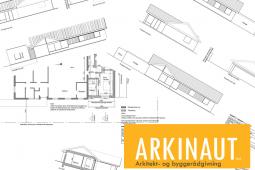 Tegninger til ansøgning om byggetilladelse - Arkinaut Arkitekt- og byggerådgivning ApS