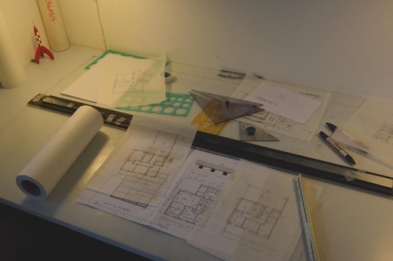 Renovering og ombygning af etplans hus - Arkinaut Arkitekt- og byggerådgivning ApS