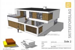 Ny villa fra Arkinaut Arkitekt- og byggerådgivning ApS