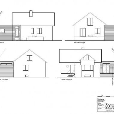 Tilbygning til enfamiliehus på Amager - Arkinaut Arkitekt- og byggerådgivning ApS