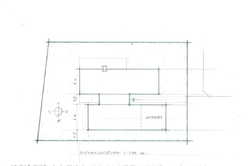 Arkitekttegnet hus - Skitseforslag Arkinaut Arkitekt- og byggerådgivning ApS 2016