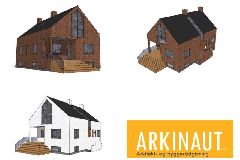 Ny 1. sal på villa - Arkinaut Arkitekt- og byggerådgivning ApS