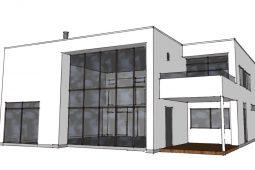 Arkitekttegnet hus - Forslag fra Arkinaut Arkitekt- og byggerådgivning 2017