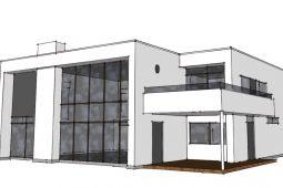 Arkitekttegnet hus Arkinaut Arkitekt- og byggerådgivning Aps