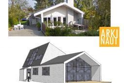 Opførelse af ny 1. sal kræver byggetilladelse