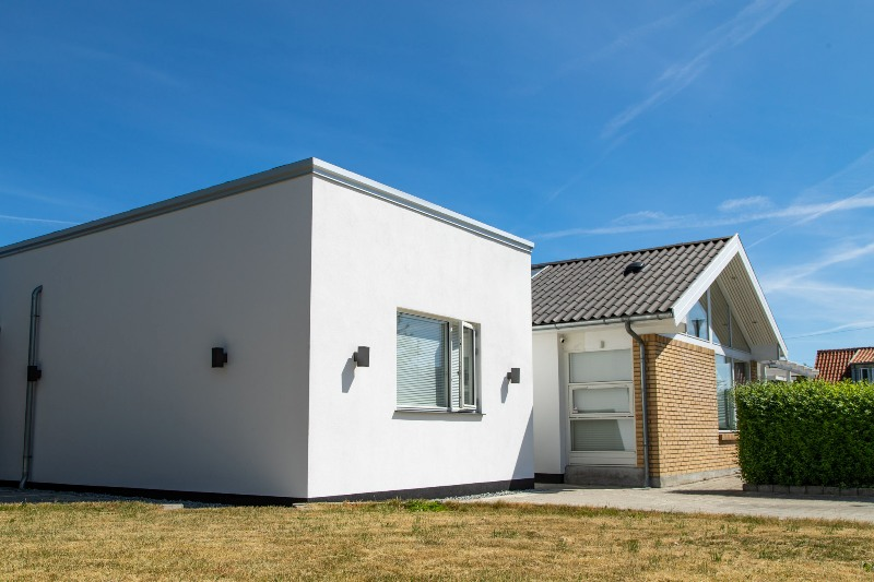 Funkis tilbygning til parcelhus - Arkinaut Arkitekt- og Byggerådgivning Aps 1