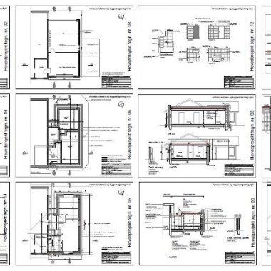 Ombygning af garage - Arkinaut Arkitekt- og byggerådgivning ApS