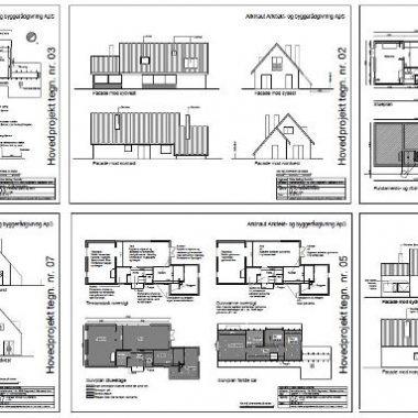 Renovering af villa - Hovedprojekt - Arkinaut Arkitekt- og byggerådgivning ApS