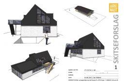 Ny (delvis) første sal på villa - ARKINAUT Arkitekt- og byggerådgivning Aps 1