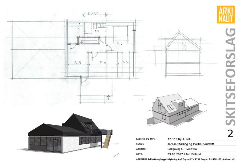 Ny (delvis) første sal på villa - ARKINAUT Arkitekt- og byggerådgivning Aps 3