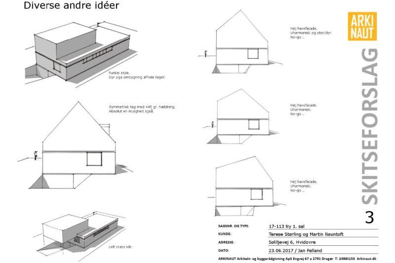 Ny (delvis) første sal på villa - ARKINAUT Arkitekt- og byggerådgivning Aps 4