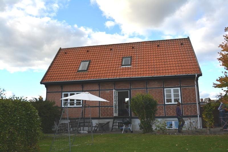 Tilbygning til bindingsværkshus - Arkinaut Arkitekter
