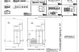 Tilbygning til parcelhus, projektmateriale, Arkinaut arkitekt- og byggerådgivning aps