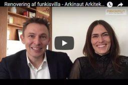 Renovering af funkis villa på Frederiksberg - Tina og Mads fortæller - Arkinaut Arkitekt- og Byggerådgivning aps