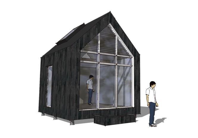 Arkitekttegnet anneks - Arkinaut Arkitekt- og byggerådgivning Aps 1