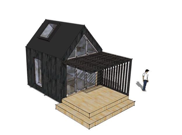Arkitekttegnet anneks - Arkinaut Arkitekt- og byggerådgivning Aps 7