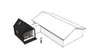 Anneks forbundet med hus som tilbygning - Arkinaut Arkitekt- og byggerådgivning aps