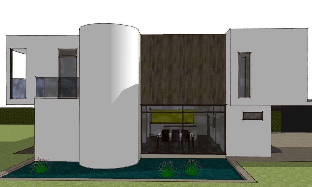 Arkitekttegnet hus - Skitseforslag Arkinaut Arkitekte + Byggerådgivning Aps 06