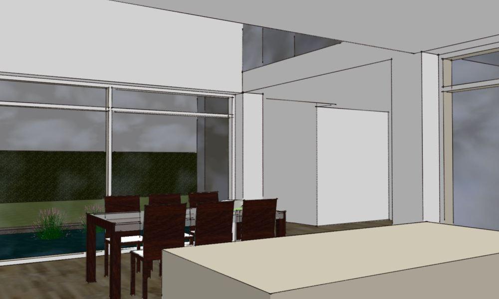 Arkitekttegnet hus - Skitseforslag Arkinaut Arkitekte + Byggerådgivning Aps 07
