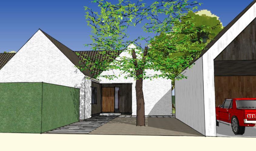 Arkitekttegnet hus - Arkinaut Arkitekt + Byggerådgivning Aps - Villa Dorthea 02