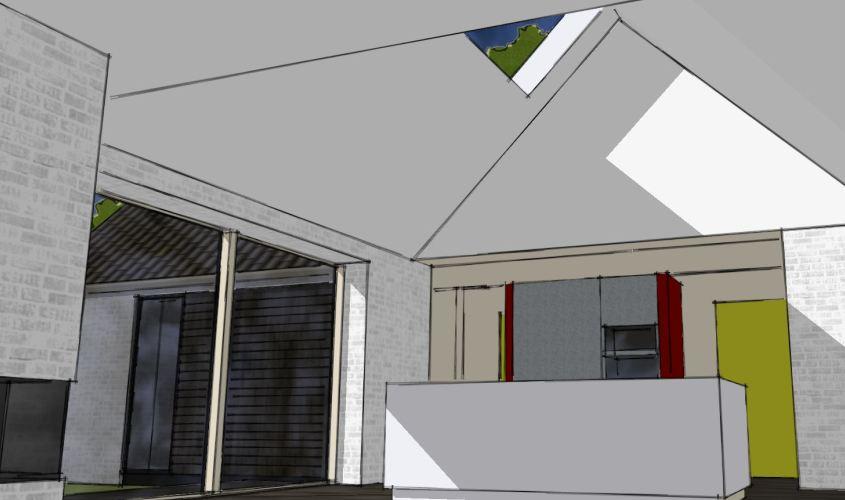 Arkitekttegnet hus - Arkinaut Arkitekt + Byggerådgivning Aps - Villa Dorthea 04