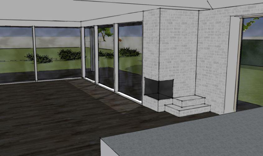 Arkitekttegnet hus - Arkinaut Arkitekt + Byggerådgivning Aps - Villa Dorthea 05