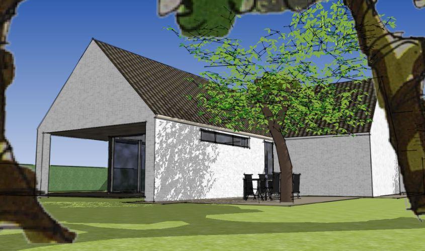 Arkitekttegnet hus - Arkinaut Arkitekt + Byggerådgivning Aps - Villa Dorthea 07