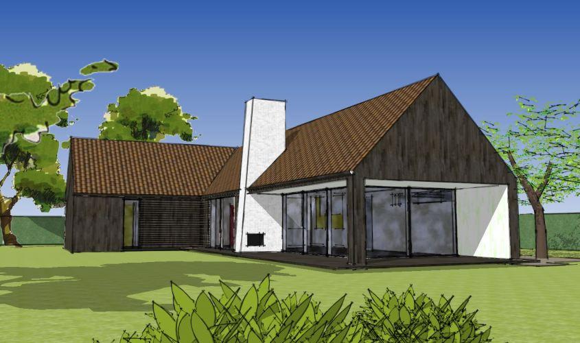 Arkitekttegnet hus - Arkinaut Arkitekt + Byggerådgivning Aps - Villa Dorthea 08
