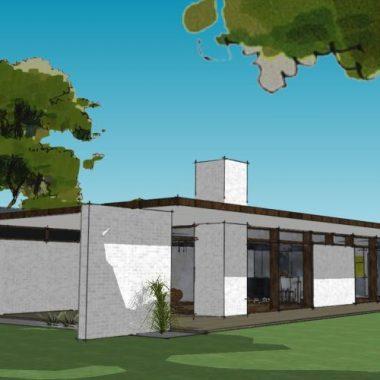 Arkitekttegnet hus - Arkinaut Arkitekt + Byggerådgivning Aps - Villa Monica 01