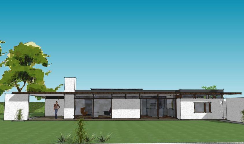 Arkitekttegnet hus - Arkinaut Arkitekt + Byggerådgivning Aps - Villa Monica 02