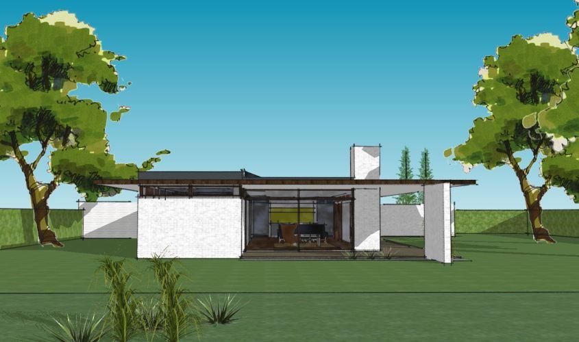 Arkitekttegnet hus - Arkinaut Arkitekt + Byggerådgivning Aps - Villa Monica 03
