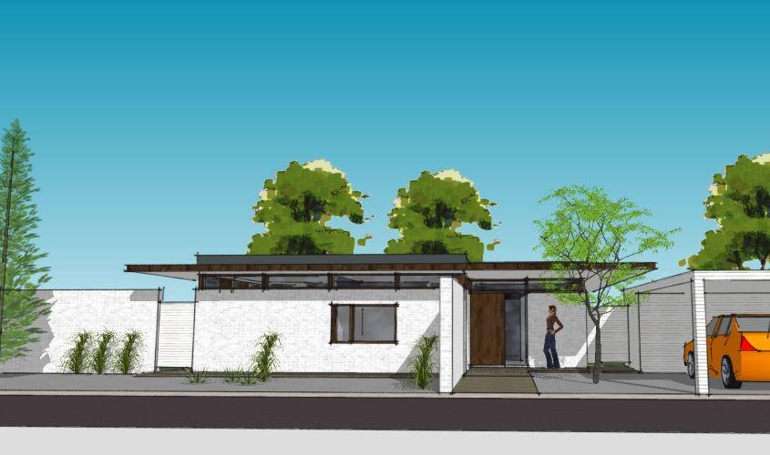 Arkitekttegnet hus - Arkinaut Arkitekt + Byggerådgivning Aps - Villa Monica 04