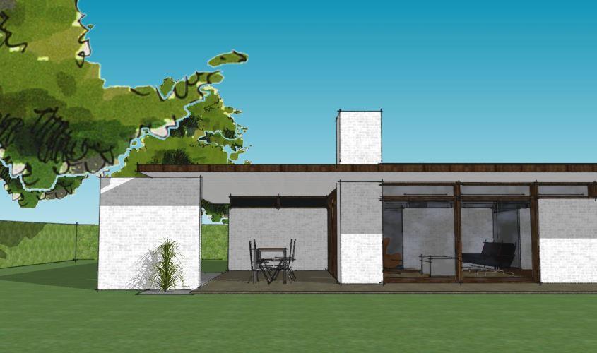 Arkitekttegnet hus - Arkinaut Arkitekt + Byggerådgivning Aps - Villa Monica 05