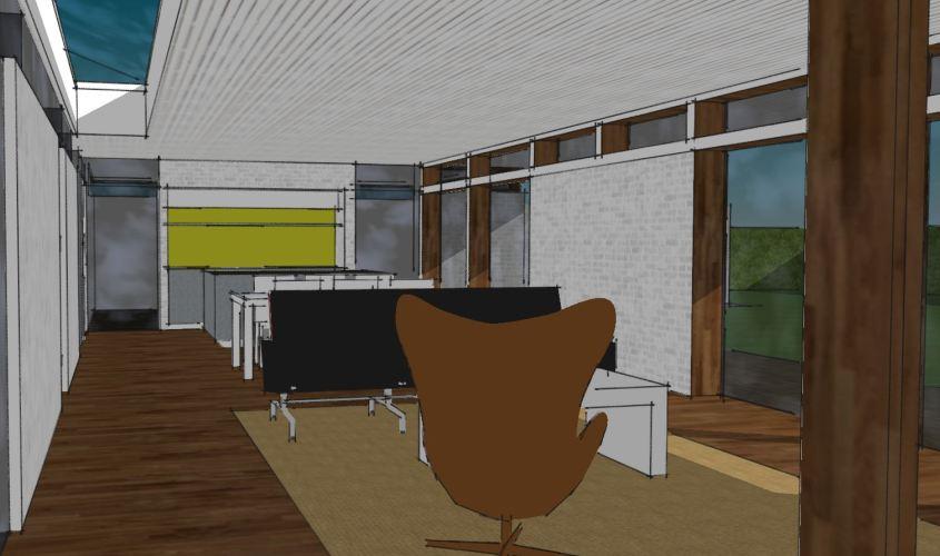 Arkitekttegnet hus - Arkinaut Arkitekt + Byggerådgivning Aps - Villa Monica 06