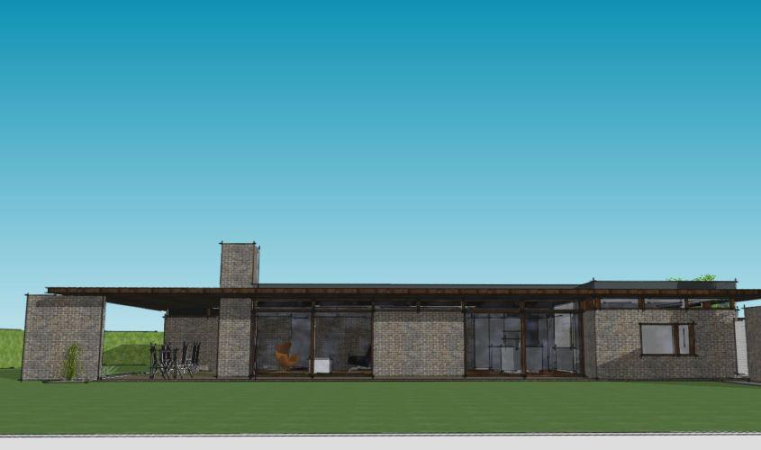 Arkitekttegnet hus - Arkinaut Arkitekt + Byggerådgivning Aps - Villa Monica 07