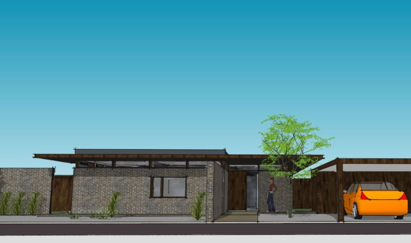 Arkitekttegnet hus - Arkinaut Arkitekt + Byggerådgivning Aps - Villa Monica 08