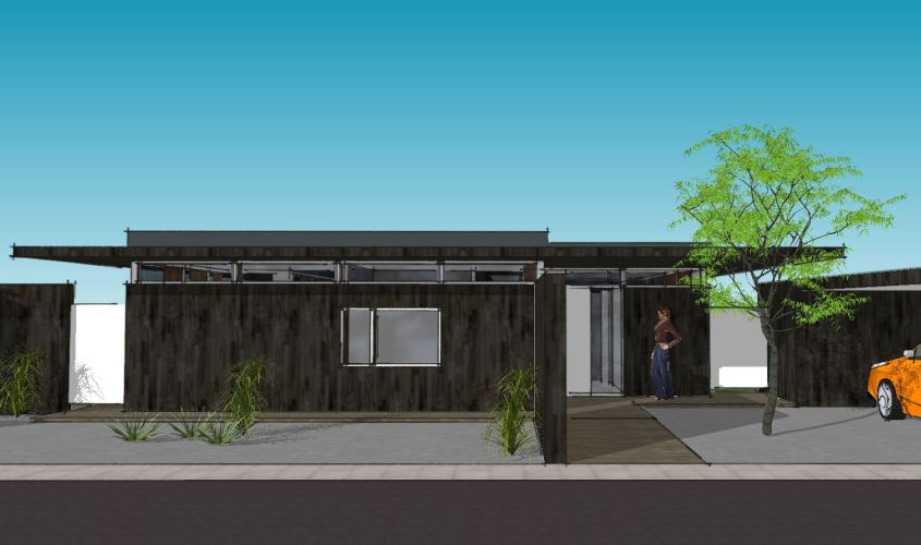 Arkitekttegnet hus - Arkinaut Arkitekt + Byggerådgivning Aps - Villa Monica 09