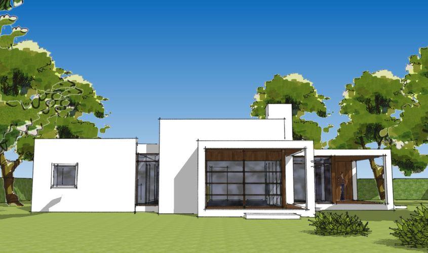 Arkitekttegnet hus - Arkinaut Arkitekt + Byggerådgivning Aps - Villa Ophelia 01