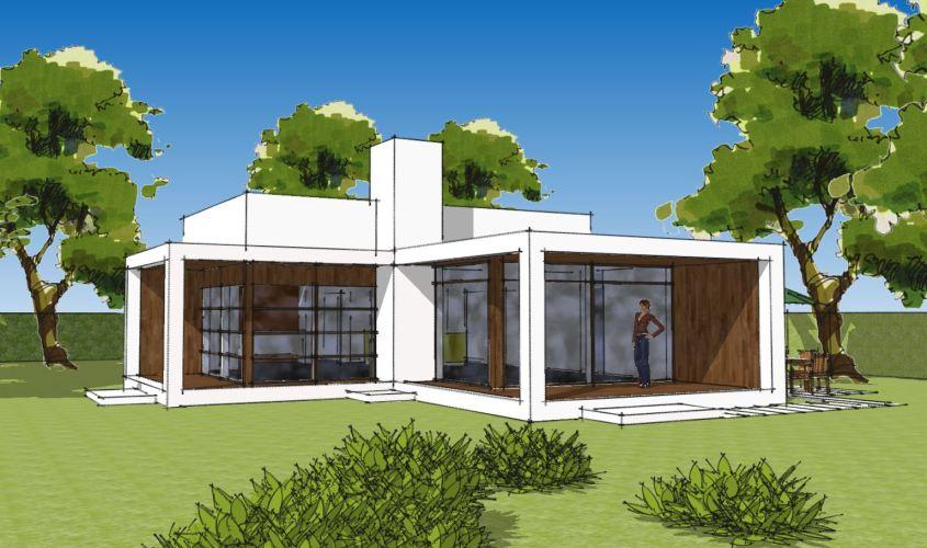 Arkitekttegnet hus - Arkinaut Arkitekt + Byggerådgivning Aps - Villa Ophelia 02