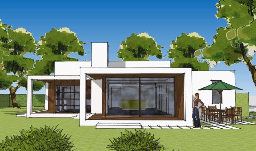 Arkitekttegnet hus - Arkinaut Arkitekt + Byggerådgivning Aps - Villa Ophelia 03
