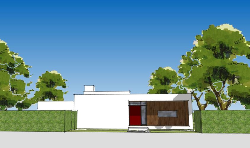 Arkitekttegnet hus - Arkinaut Arkitekt + Byggerådgivning Aps - Villa Ophelia 04