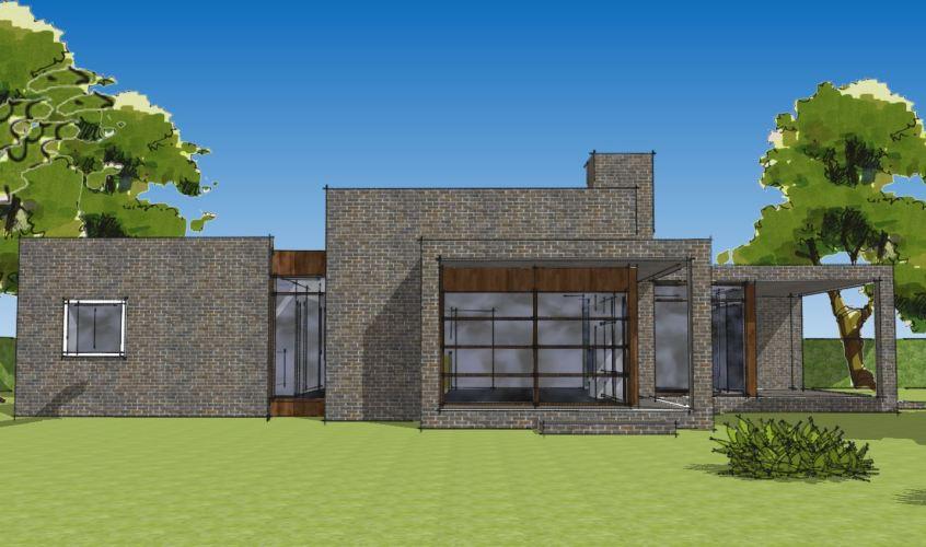 Arkitekttegnet hus - Arkinaut Arkitekt + Byggerådgivning Aps - Villa Ophelia 08