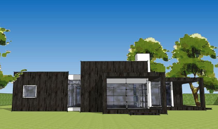 Arkitekttegnet hus - Arkinaut Arkitekt + Byggerådgivning Aps - Villa Ophelia 09