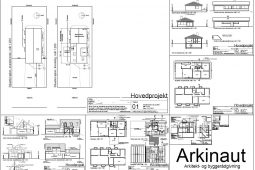 Ny første sal, arbejdstegninger og hovedprojekt - Arkinaut Arkitekt- og Byggerådgivning Aps